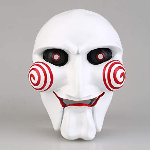 (LoveOlvidoD Stimulieren SAH Thema Maske Halloween Maske europäische und amerikanische Mode kettensäge massaker Partei Cosplay Maske)