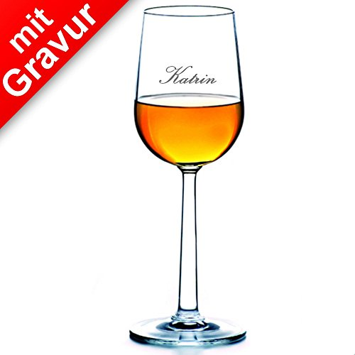 Rosendahl Grand Cru Süßweinglas 2er Set MIT Gravur (z.B. Namen) - Weinglas