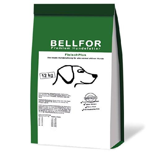 hundeinfo24.de Bellfor Fleisch Plus – Premium Hundefutter – 12 kg
