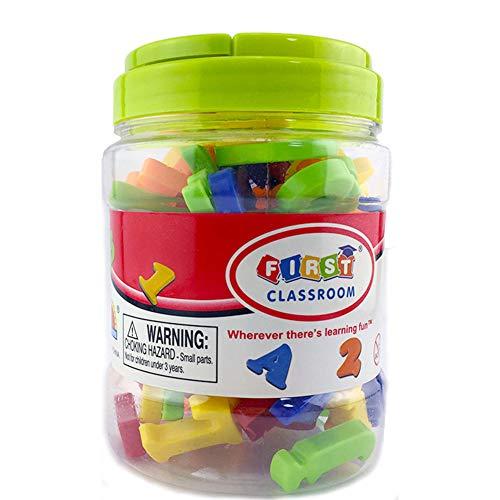 78 Teile/Satz Magnetische Buchstaben Zahlen für Kinder Pädagogisches Alphabet Kühlschrank Magneten