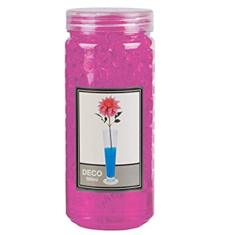 Ready To Use Hydrogel Decorative Beads 500ml in Tube (Pink)
