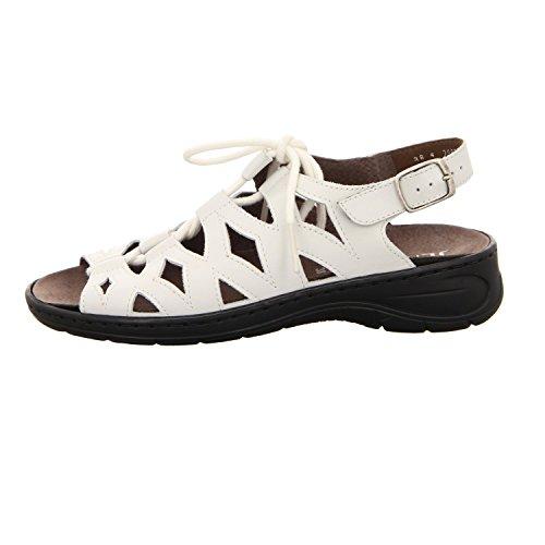 Granit, Sandales Femme Blanc Blanc Blanc