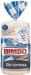 Bimbo - Pan blanco de molde sin corteza - 20 rebanadas - 480 g