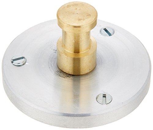 Manfrotto 208 Adapterplattform 1 cm (3/8 Zoll) mit Bolzen 1,6 cm (5/8...