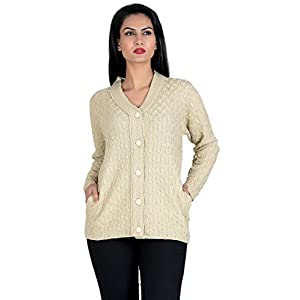 Aarbee Women's Blended V-Neck Sweater