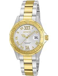 Invicta 12852 - Reloj para mujer color plateado / dorado