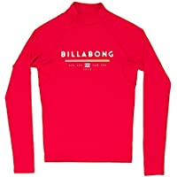 Eligible for FREE UK Delivery. Billabong 2018 Junior Unity Long Sleeve Rash  Vest RED H4KY02 be208bcb0