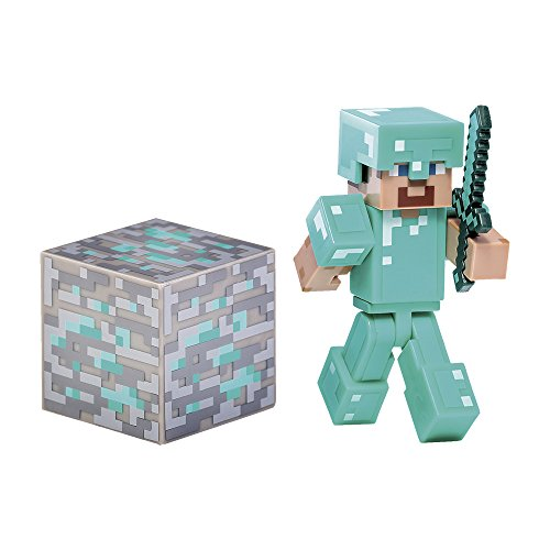 Minecraft - Blíster figura de Zombie (Giochi Preziosi 16560)