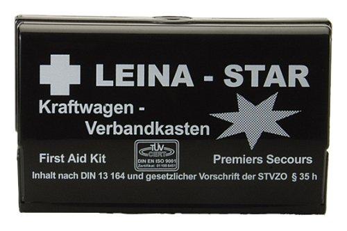 Leina 73600 - Cassetta del Pronto Soccorso a Norma DIN 13164 B, con Coperta Termica di Sopravvivenza