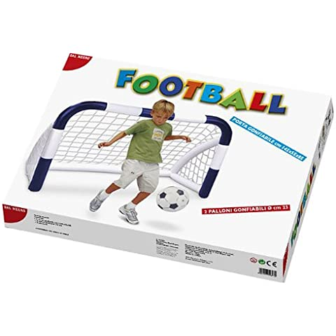 Dal Negro 55647 - Portería de fútbol hinchable [Importado de Italia]