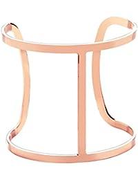 Front Row pulsera mujer color de oro rosa