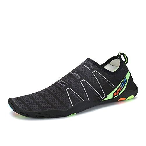 2b8b965f1 Voovix Aqua Shoes Escarpines Hombres Mujer Zapatos de Agua Zapatillas  Ligeros de Secado Rápido Para Swim