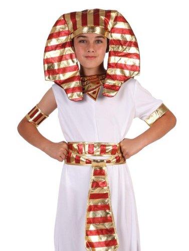 Costume da Piccolo Egizio Rosso e Oro