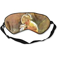 Sleep Eye Mask Girl and Rabbit Lightweight Soft Blindfold Adjustable Head Strap Eyeshade Travel Eyepatch E4 preisvergleich bei billige-tabletten.eu