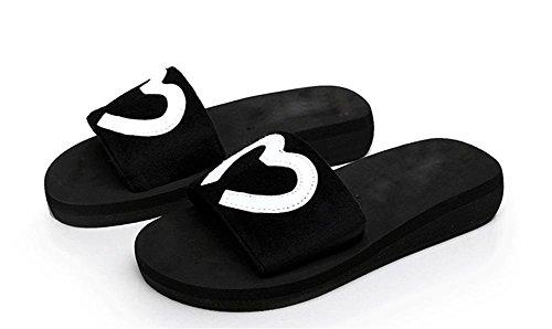pengwei¨¦t¨¦, bande ¨¦lastique, chaussons, gateau au pin, solides ¨¦paisses Sandales femme poe et pantoufles de plage 3