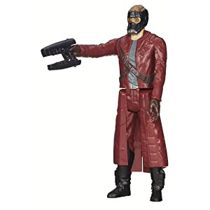 Marvel Guardians of the Galaxy Titan Hero Series Star-Lord Figure 4