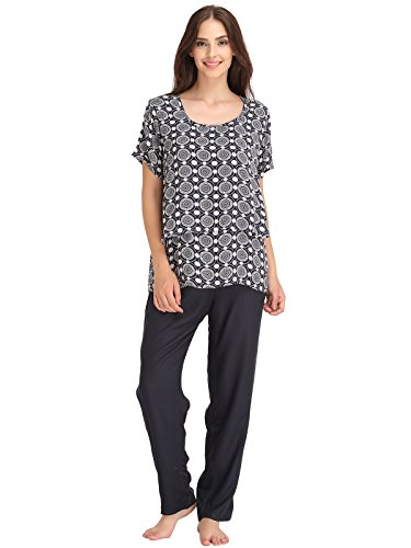 Clovia Women Printed Top & Pyjama Maternity Set