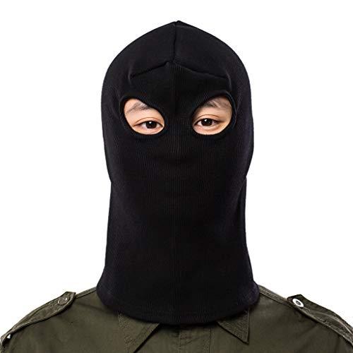 ALIKEEY Eleganti Berretto Invernali Passamontagna da Sci Invernale Moto Passamontagna Full Face Mask Cappello Antivento Impermeab
