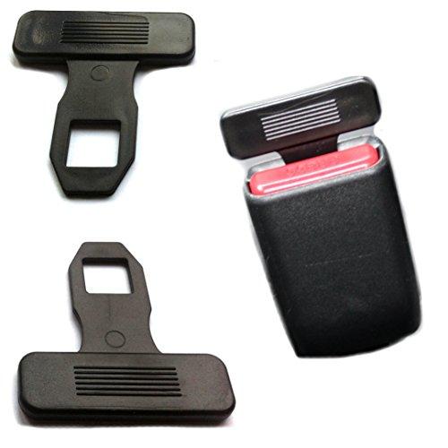 Ventilkappenkönig 2x Anti Gurtwarner Sicherheitsgurt Gurtstecker Gurtalarm Gurtschloss Gurtalarm Stopper von passend Universal für die meisten des Autos