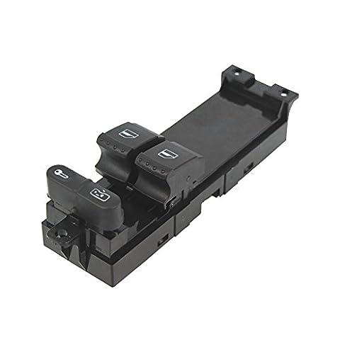 MagiDeal Conducteur Voiture Commutateur Lève-vitre électrique Du Panneau De Maître Côté Pour Vw Golf Mk4 2 Portes