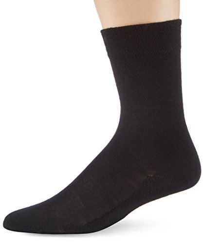 Hudson Damen Strick Socken, 015260 Dry Wool, Gr. 39/42, Schwarz (Black 0005)