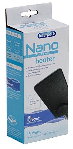 Interpet Delta Mini Nano Aquarium Fish Tank Heater 7.5 W - for small tropical aquariums up to 12 litres 1