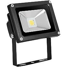10W/20W/30W/50W/100W LED focos blanco cálido reflector Versátil Proyector Lámpara Exterior Resistente al agua IP65