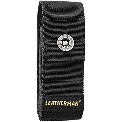LEATHERMAN 934929 Sheath Etui en nylon noir compatible Signal, SuperTool 300, Surge, Large