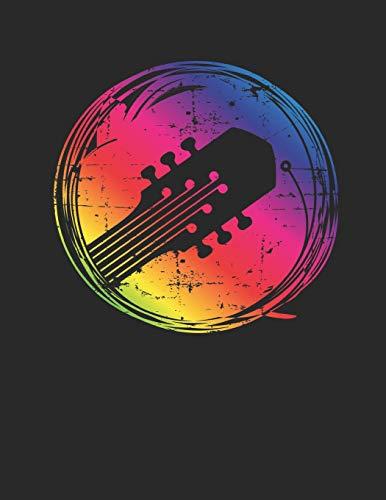 Gitarren Tabulatur & Akkord Heft: Akustik Gitarren Notenheft 110 Seiten mit leeren Tabs und Akkord Feldern. Tolle Geschenk Idee für Gitarristen, Gitarren Lehrer und Schüler. (Akustik Kinder Gitarre Ständer)
