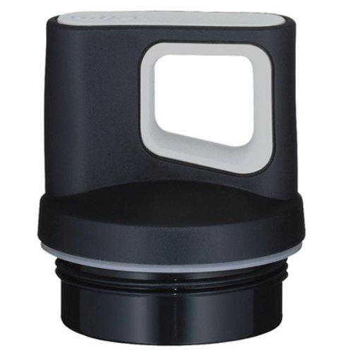 alfi 9202.001.027 Drehverschluss, Edelstahl, schwarz, 5.3 x 5.3 x 4.5 cm