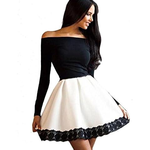 Bluestercool - Vestidos para Mujer Cortos