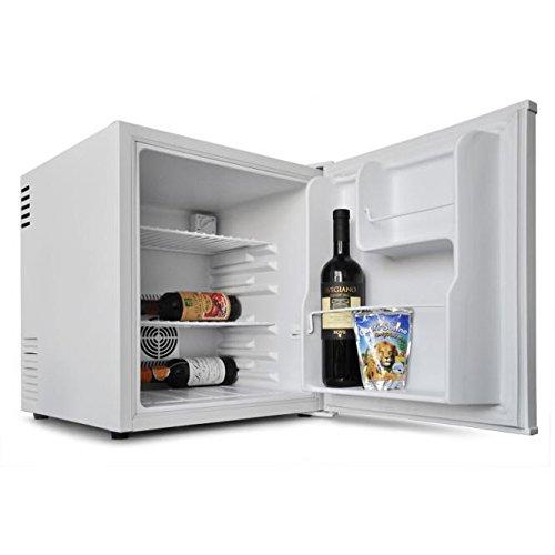 Klarstein HEA-8 mini-réfrigérateur encastrable (pour conservation de bouteilles, capacité de 40L, classe énergétique A, 2 étagères, fonctionnement silencieux) - blanc