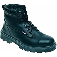 Toesavers 1100-4,0 doppia suola imbottita S3, stivali di sicurezza, misura 4, colore: nero