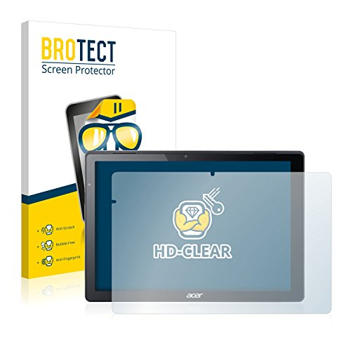 BROTECT Schutzfolie kompatibel mit Acer Switch Alpha 12 [2er Pack] - klarer Bildschirmschutz