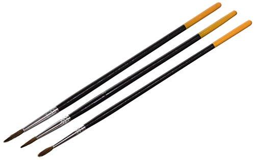 Supertite 3120 3 Pinceaux Arts Ronds Multicolore 31 x 35,5 x 30 cm