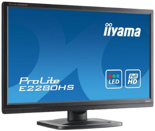 Iiyama ProLite E2280HS 22 inch Backlit LED LCD Monitor Black Products