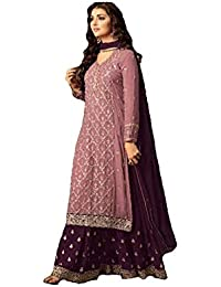 b05240821eb Amazon.in  Georgette - Salwar Suits   Ethnic Wear  Clothing ...