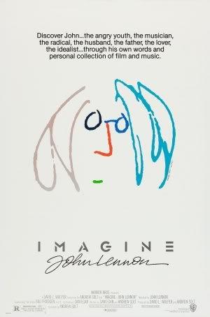 IMAGINE : JOHN LENNON – Imported Movie Wall Poster Print – 30CM X 43CM