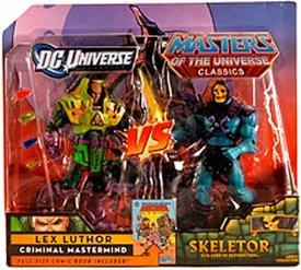 DC Universe & Masters del Universo Classics exclusivo 2Pack Skeletor
