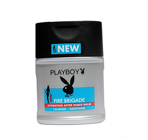DOPOBARBA Uomo PLAYBOY AFTER SHAVE FIRE BRIGADE IDRATANTE Formato da 100 ml