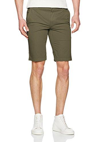 BOSS Orange Herren Shorts 10187815 01 Grün (Dark Green 309)