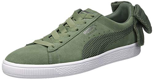 Details about Puma Womens Suede Bow Uprising WNs Low-Top Sneakers f926198f3