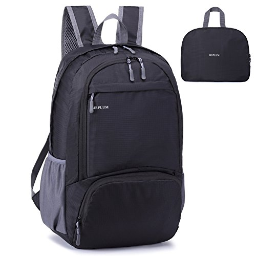 mrplum-packable-folding-travel-hiking-daypack-camping-sport-shopping-backpack-outdoor-essential-blac