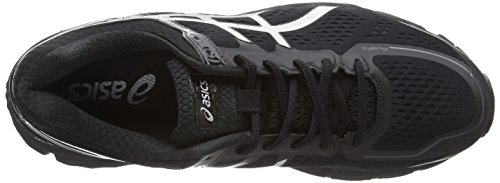 Asics Gel-kayano 22, Chaussures de Running Entrainement Homme Noir (Noir Onyx/Silver/Charcoal)