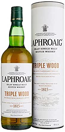 Laphroaig Triple Wood Malt Islay Single Malt Scotch Whisky (1 x 0.7 l)