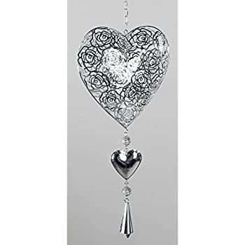 Amazon.de: Formano Deko Herz gefertigt aus Edelstahl zum