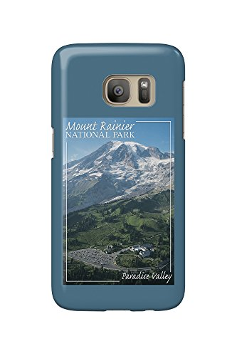 Mount Rainier National Park - Paradise Valley (Galaxy S7 Cell Phone Case, Slim Barely There)