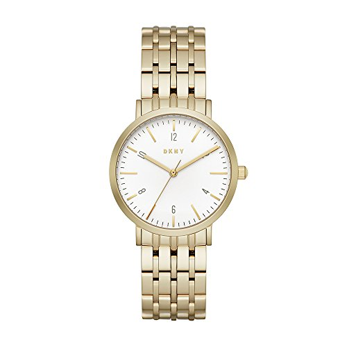 DKNY Women's Analogue Quartz Watch with Stainless-Steel Strap NY2503