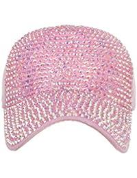 TWIFER Hombres Mujeres Gorras de béisbol Moda Ajustable Gorra de algodón Estrella Gorra de Diamantes de