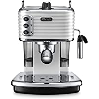 De'Longhi Scultura ECZ351W Traditional Pump Espresso Machine - White